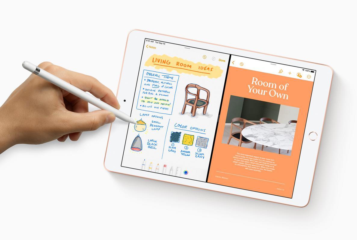 iPad OS on iPad 7th Gen