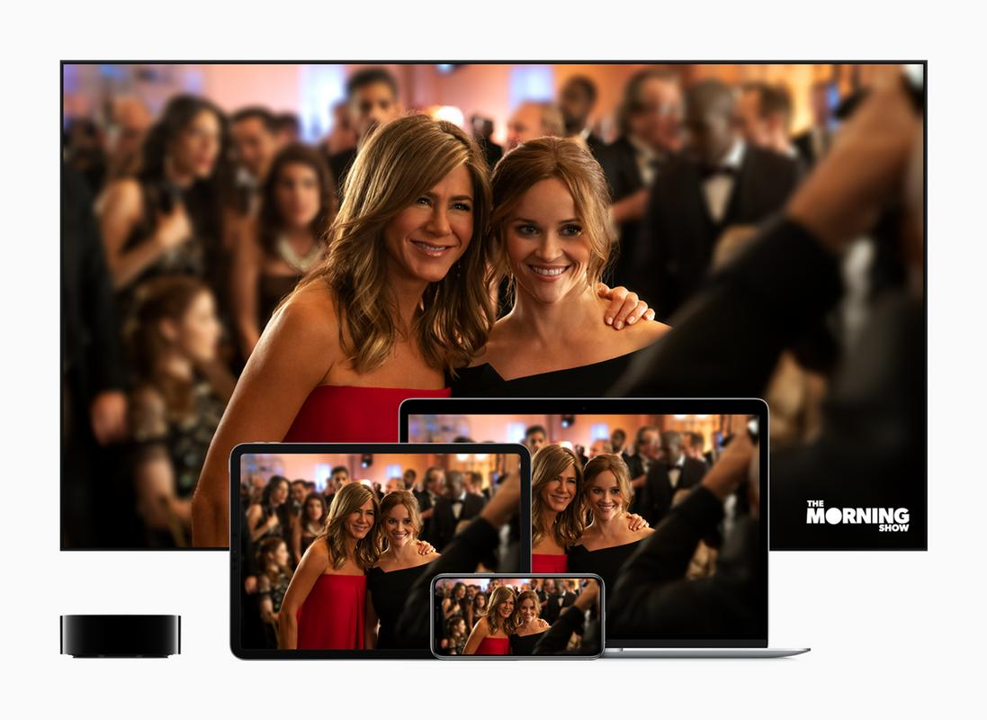 Apple tv plus launches november 1 the morning show screens 09101