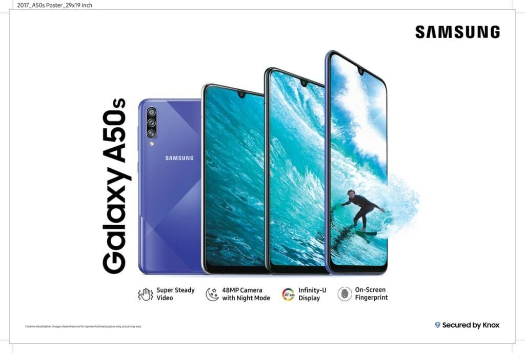 Samsung launches Galaxy A30s and 50s in India