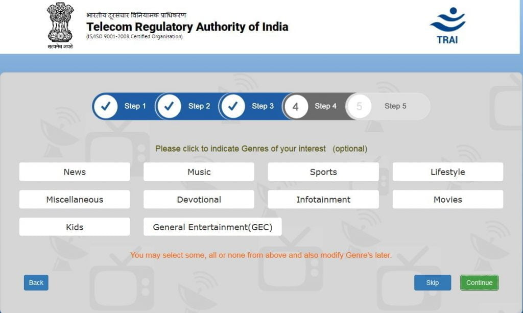 TRAI releases draft regulation to facilitate consumer choice of TV channels using API