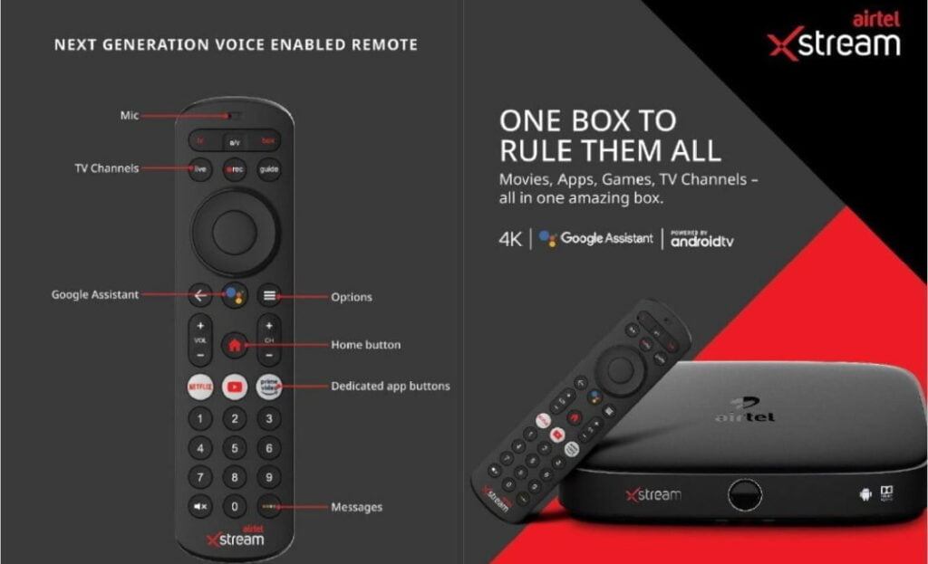 Airtel Xstream Box and Xstream Smart Stick launched to compete with Jio