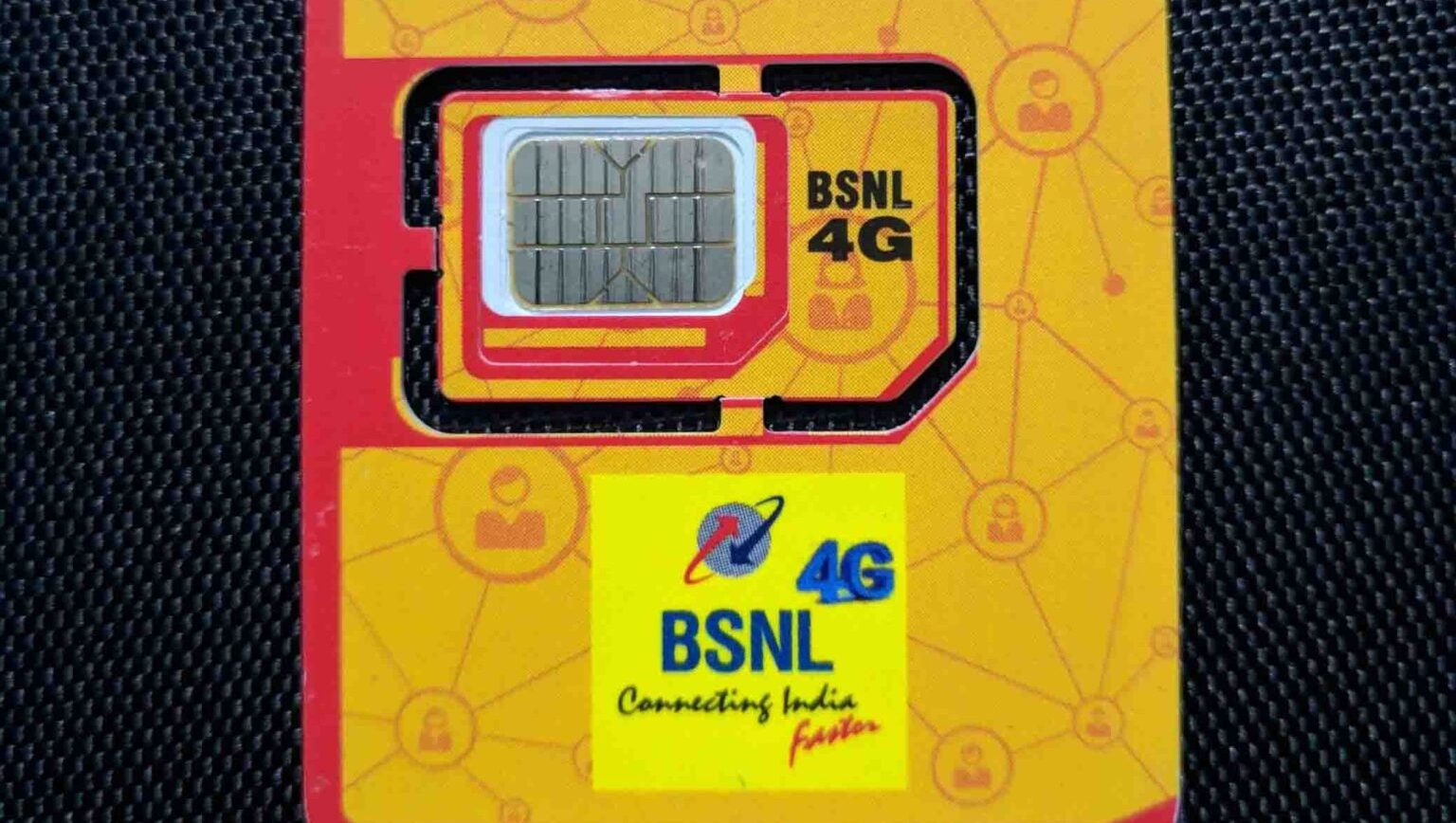 BSNL 4G SIM 1
