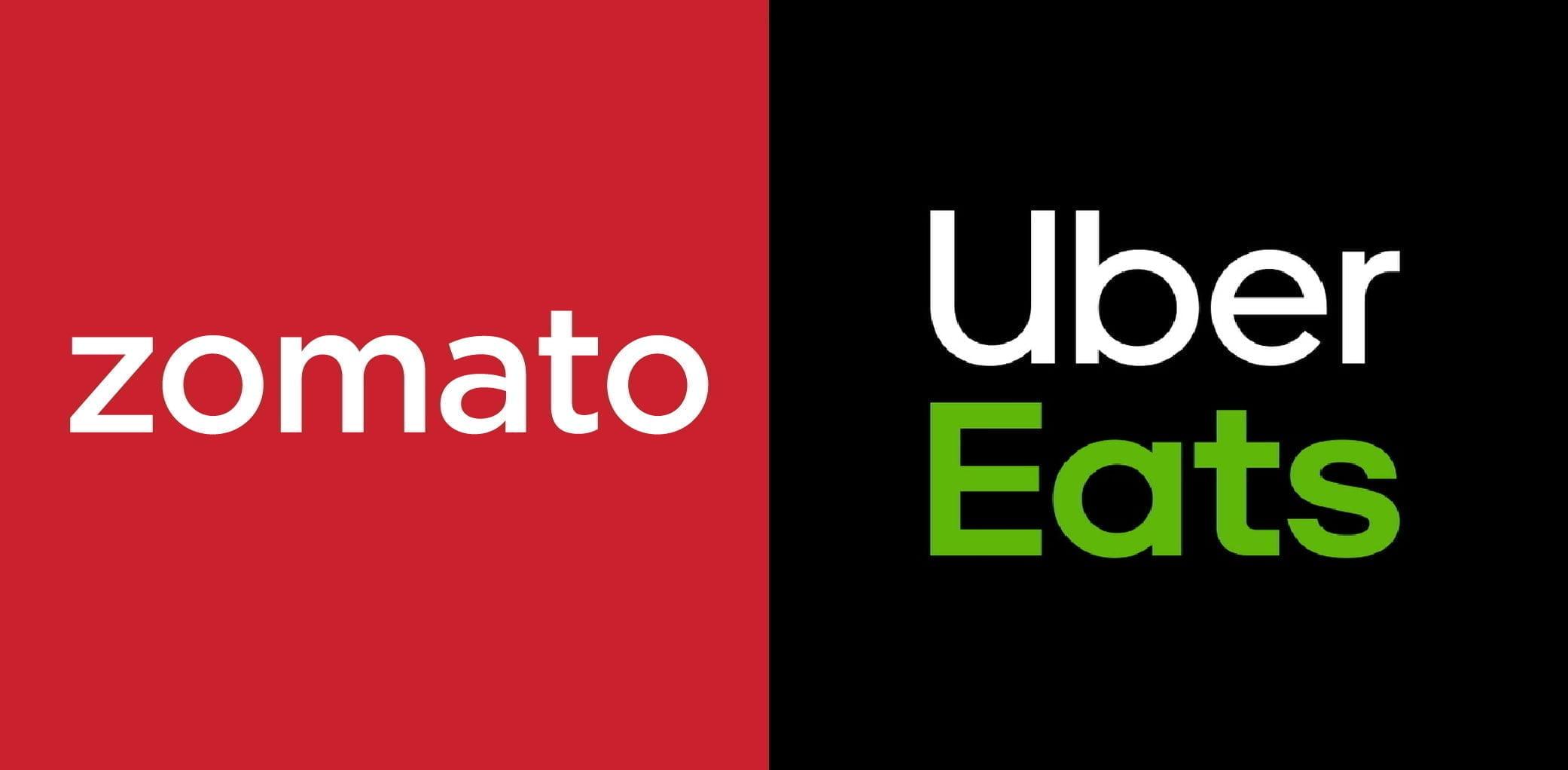 Zomato Uber Eats