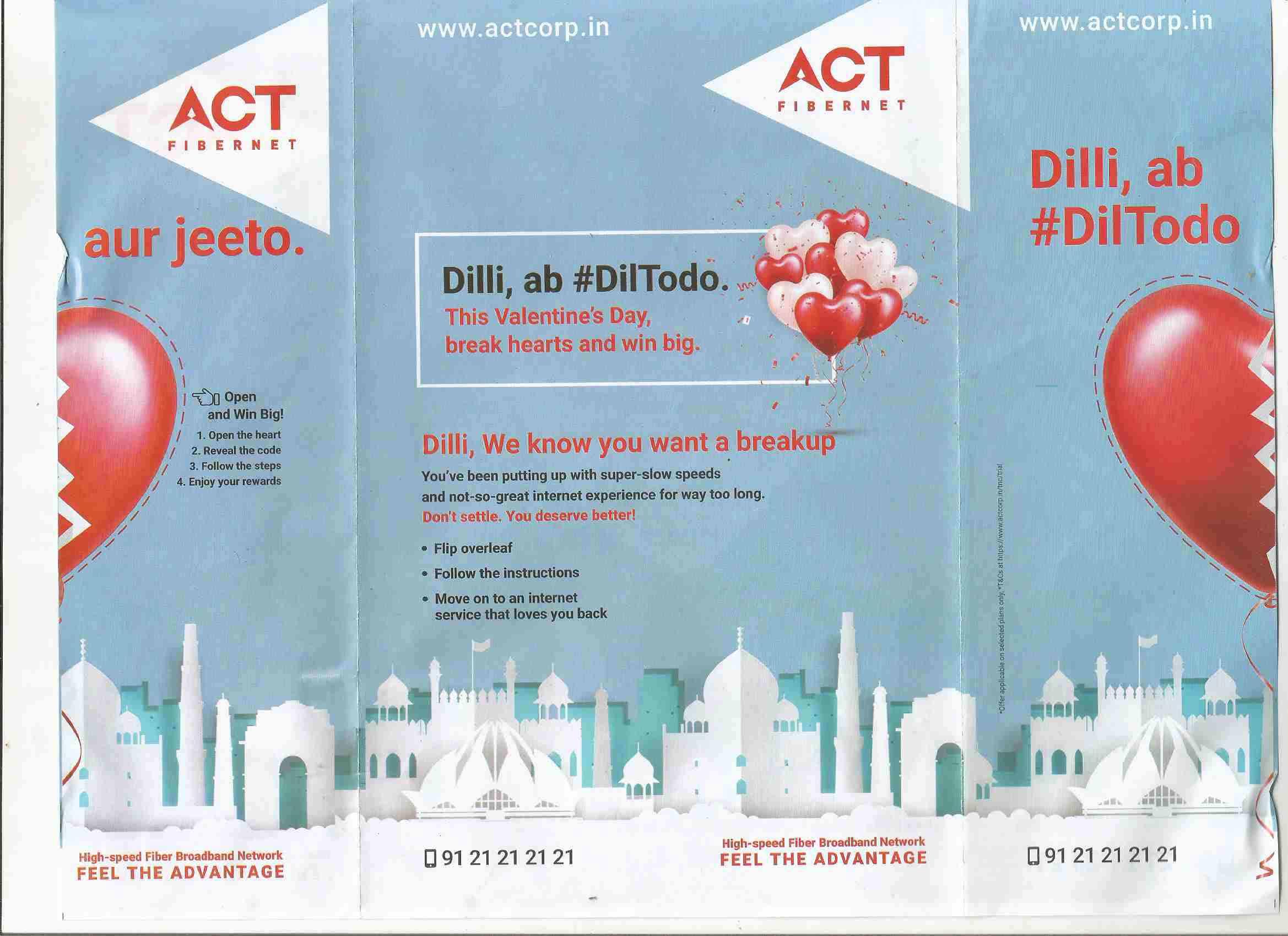 ACT Fibernet Dilli Dil to Do2