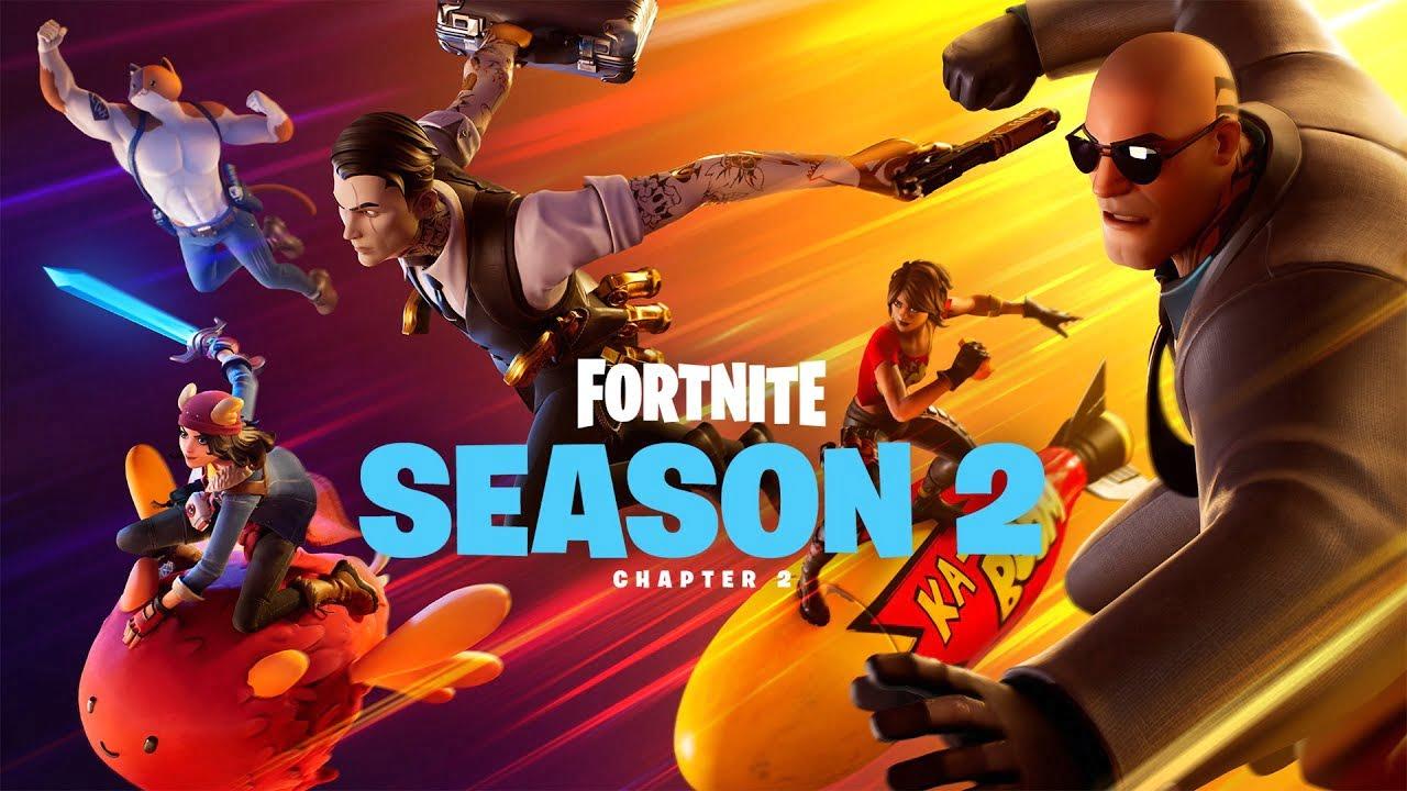 Fortnite season 2 chapter 2 banner