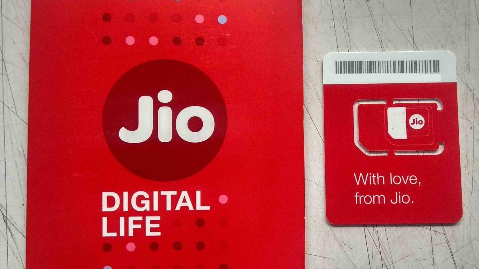 Jio Packet Plus SIM