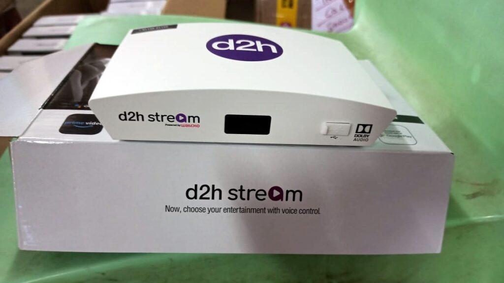d2h Stream STB Box