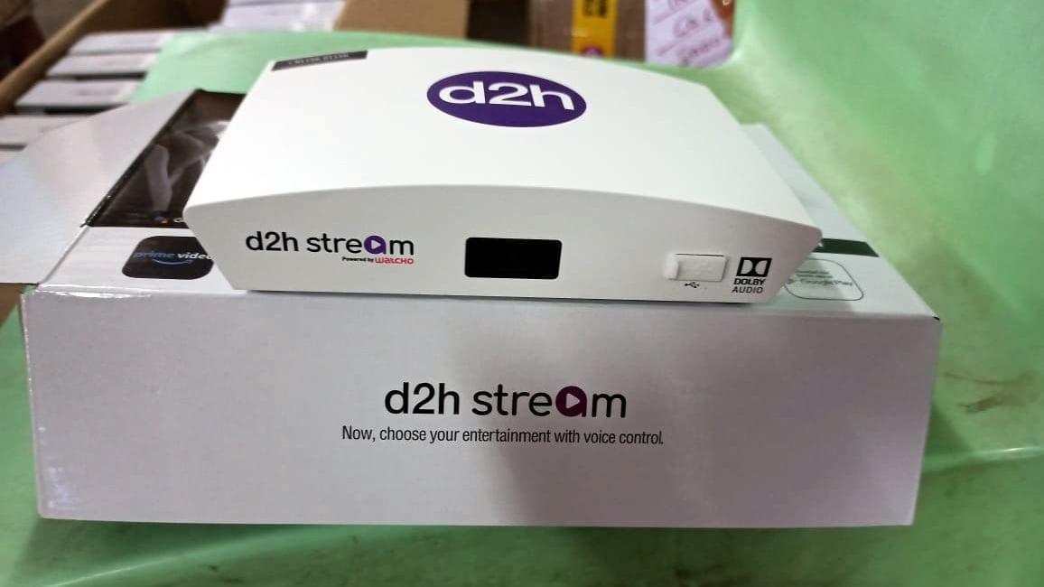 d2h Stream STB