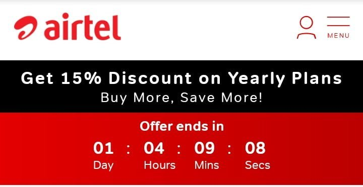 Airtel offering 15% discount on annual rental Broadband plans for new Xstream Fiber users