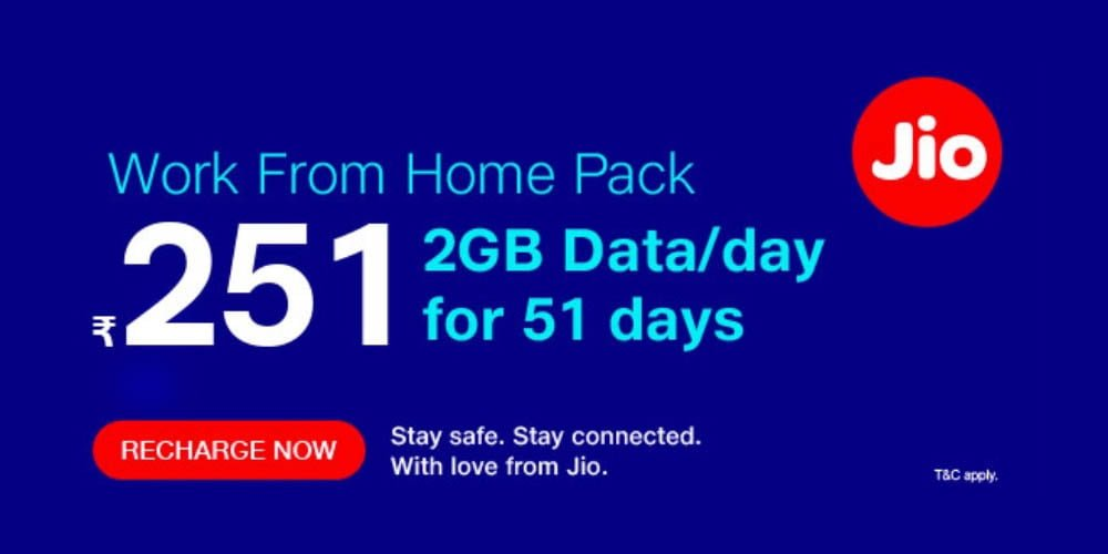 Jio Work From Home Pack2