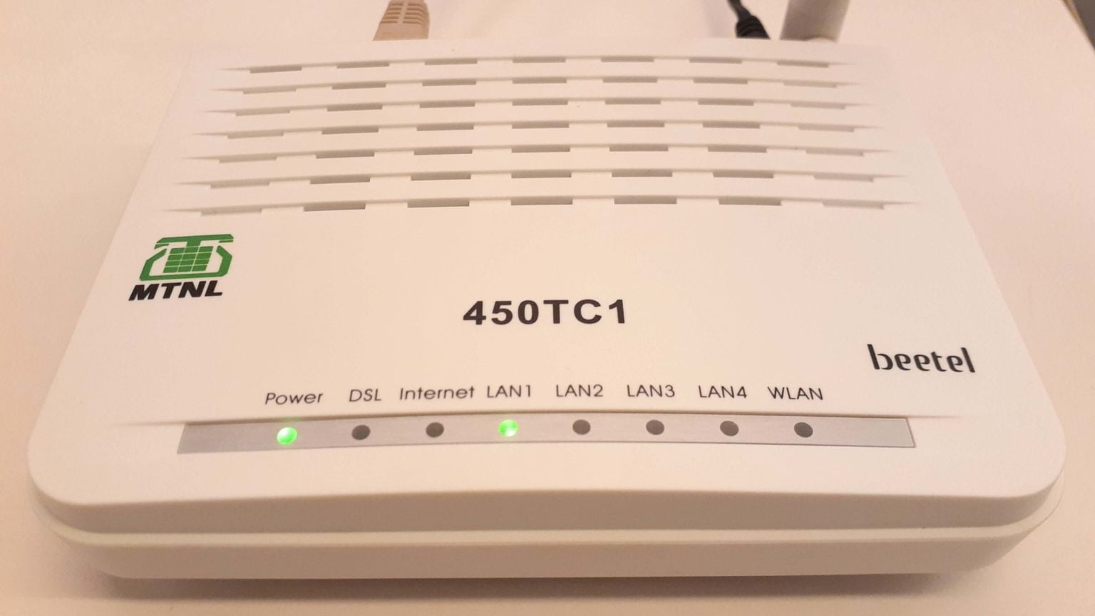 MTNL Router