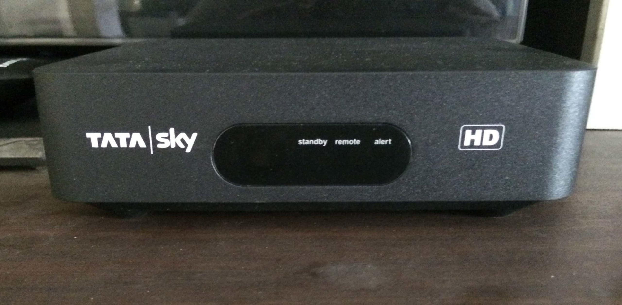 Tata Sky HD STB 2 scaled