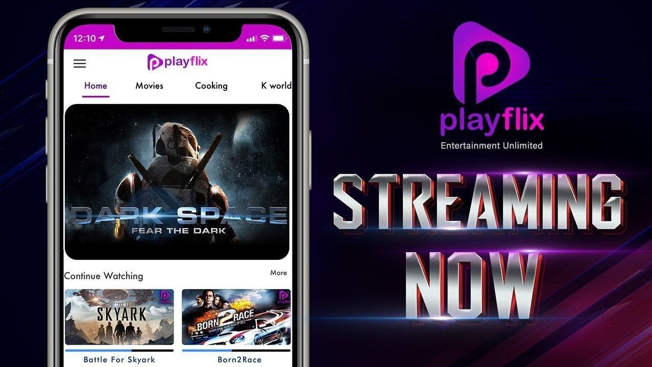 PlayFlix Logo