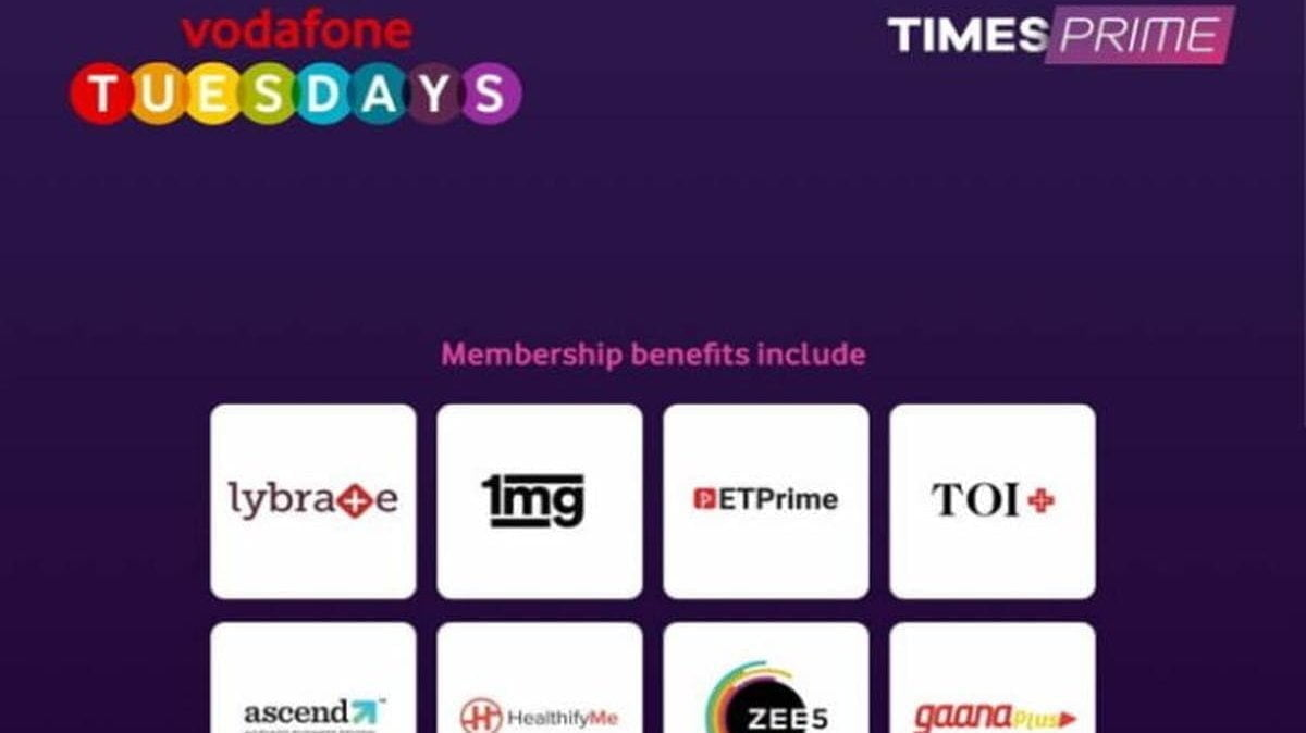 Vodafone Tuesdays Times Prime