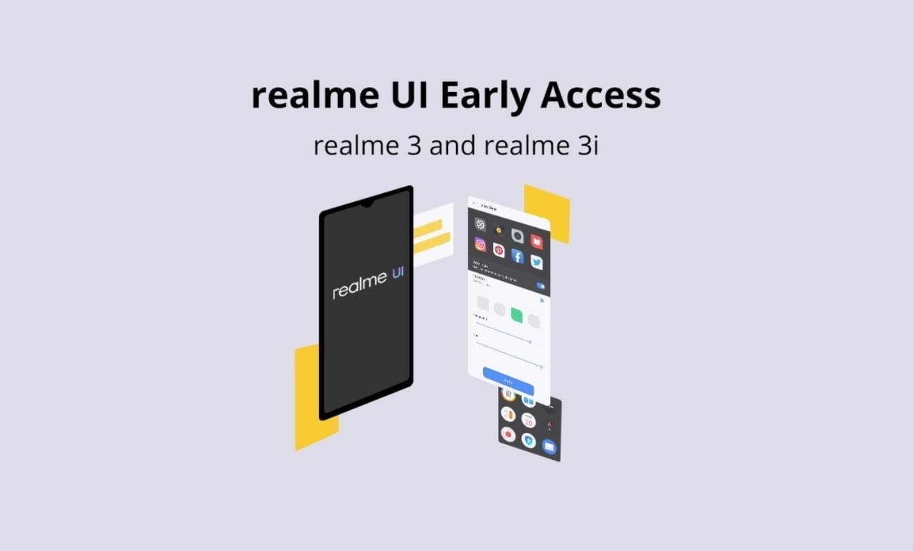 realme 3 and realme 3i early access