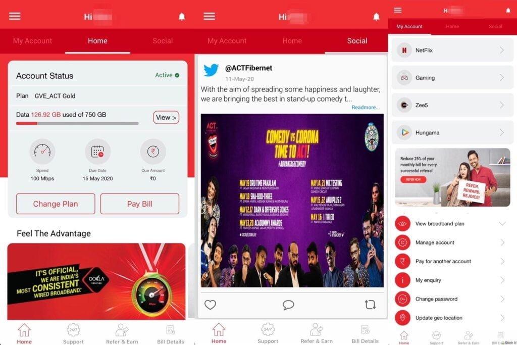ACT Fibernet app gets an upgrade