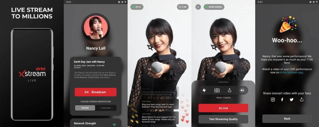 Airtel to launch 'Airtel Xstream live' a virtual stage for artists