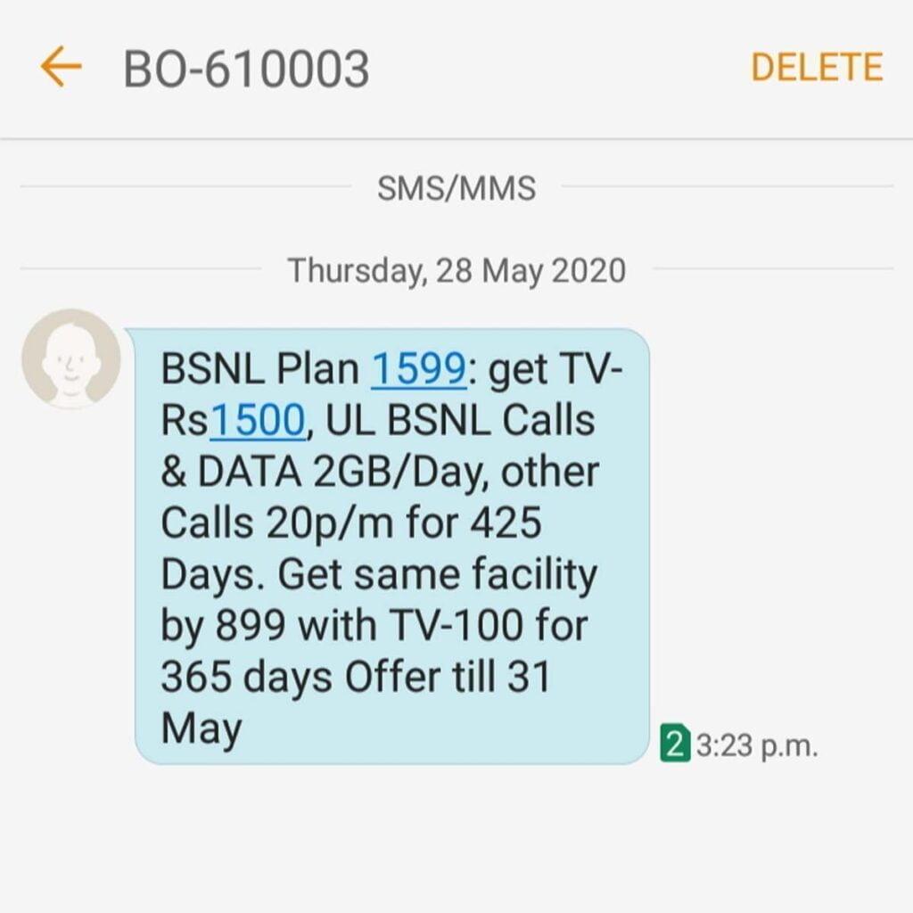 BSNL Odisha