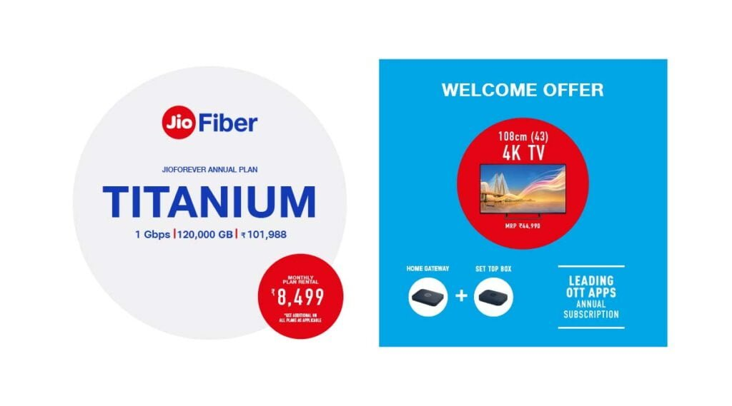 JioFiber 12-month subscription plans now offer extra data as Annual Plan Benefits