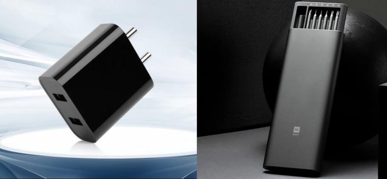 Mi 18W dual port charger Mi Precision Screwdriver Kit