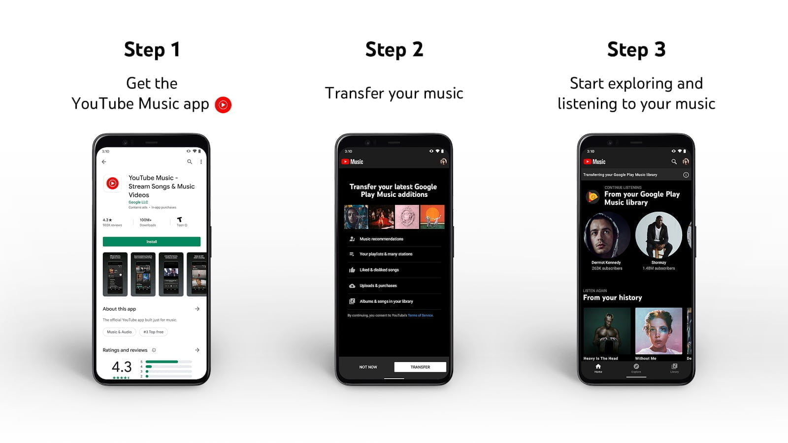 Google to shutdown Play Music this year; introduces tool to transfer library to YouTube Music
