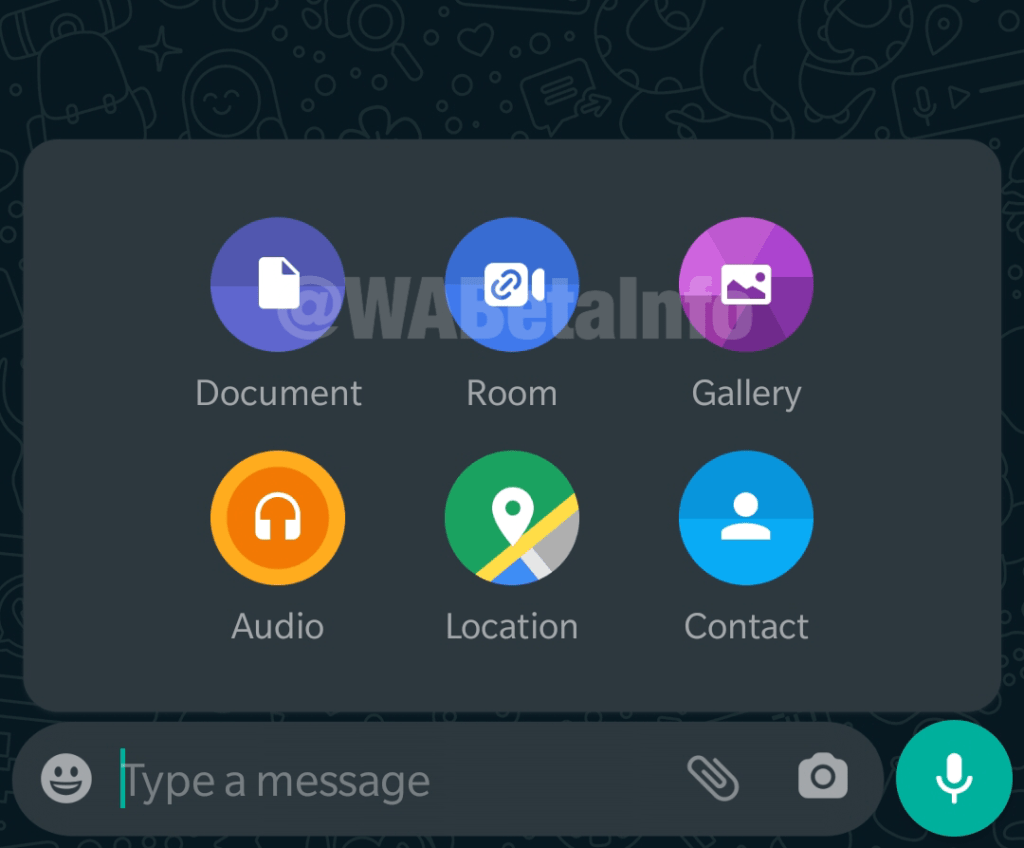 WhatsApp testing Messenger Rooms shortcut for Android and web app