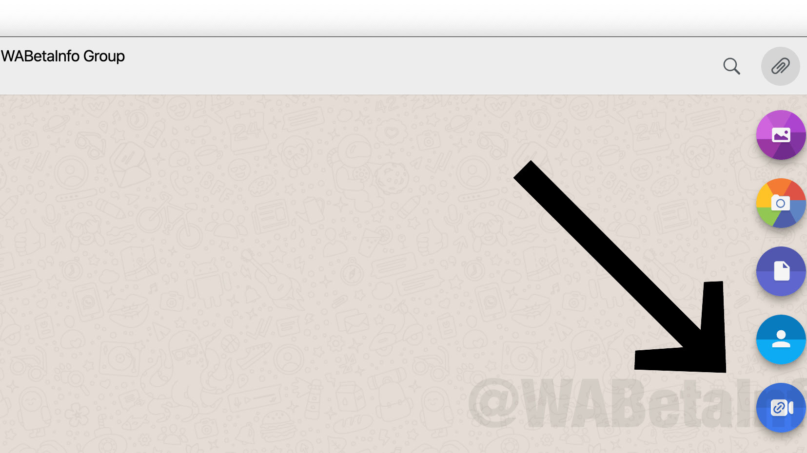 WhatsApp Web ROOMS SHORTCUT