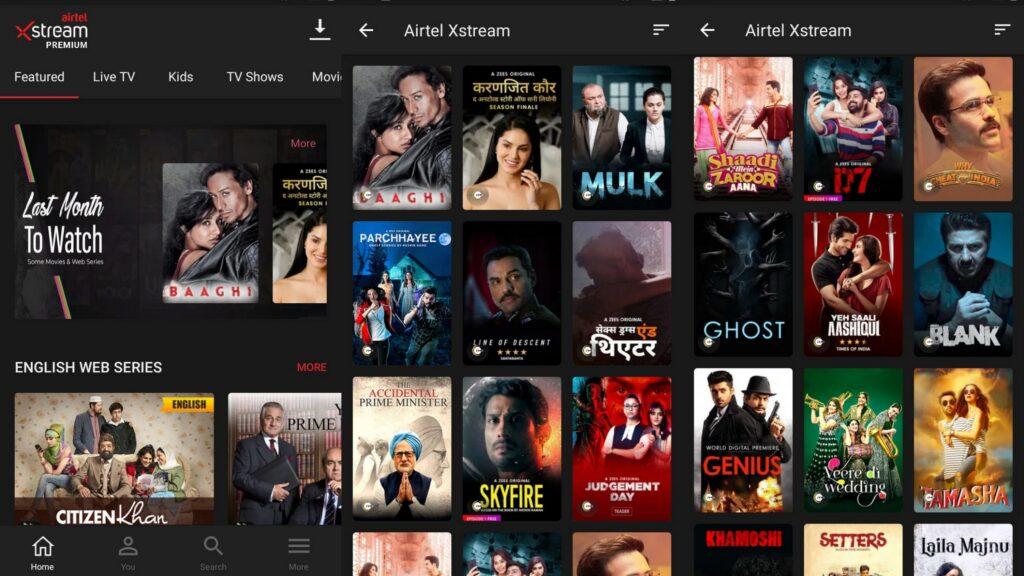Airtel TV app goes dark, rebrands itself as Airtel Xstream app