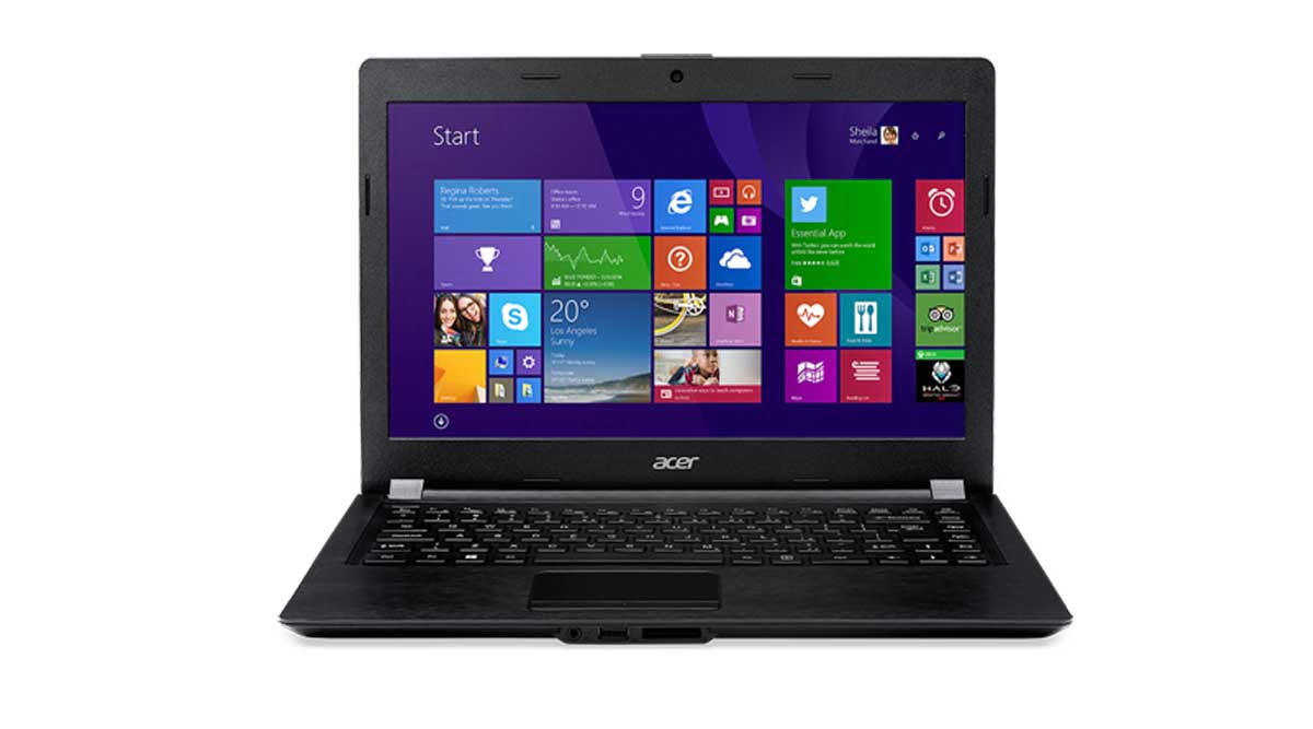 Acer One Z1401 Main