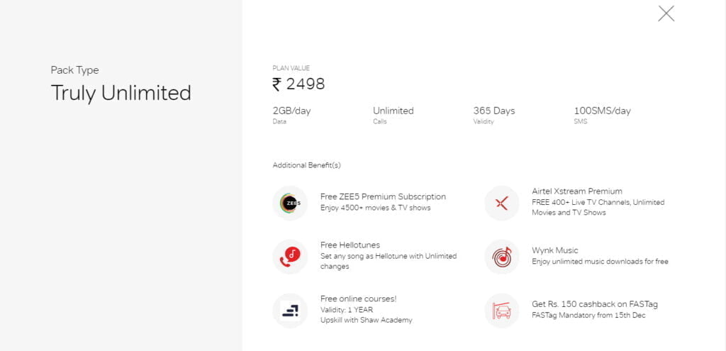 Bharti Airtel now offering 1 year Shaw Academy subscription with prepaid plans