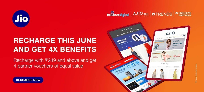 Jio 400X Benefits