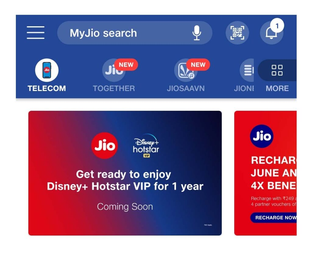 Jio teases Disney+ Hotstar VIP annual membership
