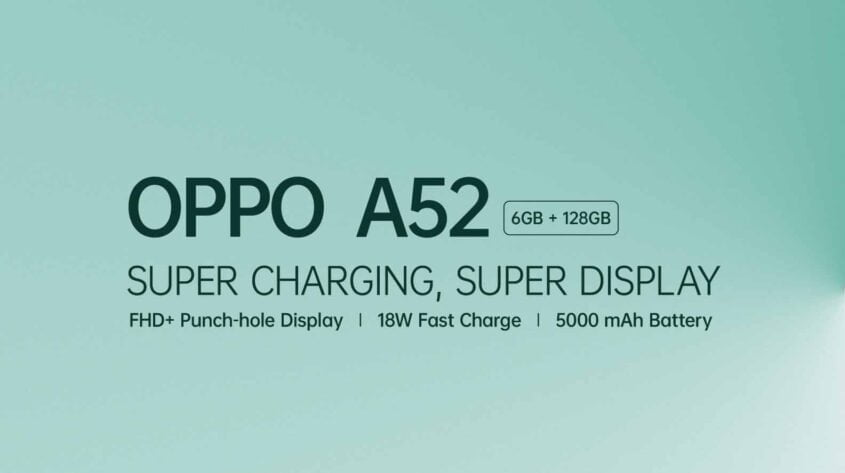 Oppo A 52