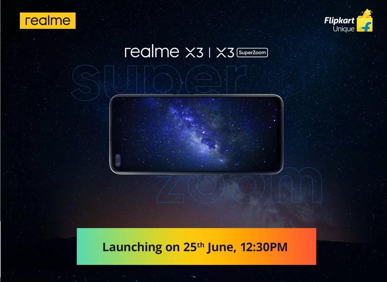Realme X3 SuperZoom Realme X3 Flipkart teaser