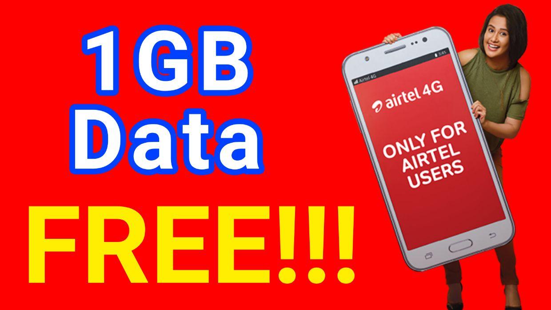 Airtel 1GB Data