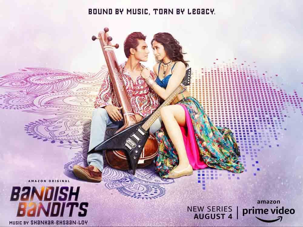 Amazon Prime Video drops the music album for its upcoming musical-drama Bandish Bandits