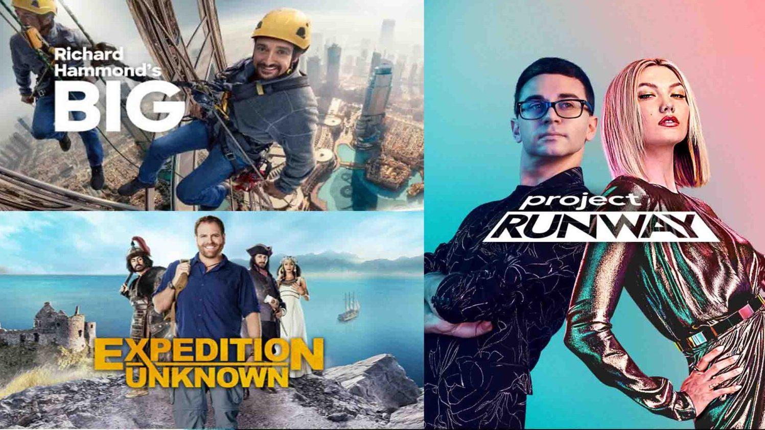 DiscoveryPlus 5 Titles