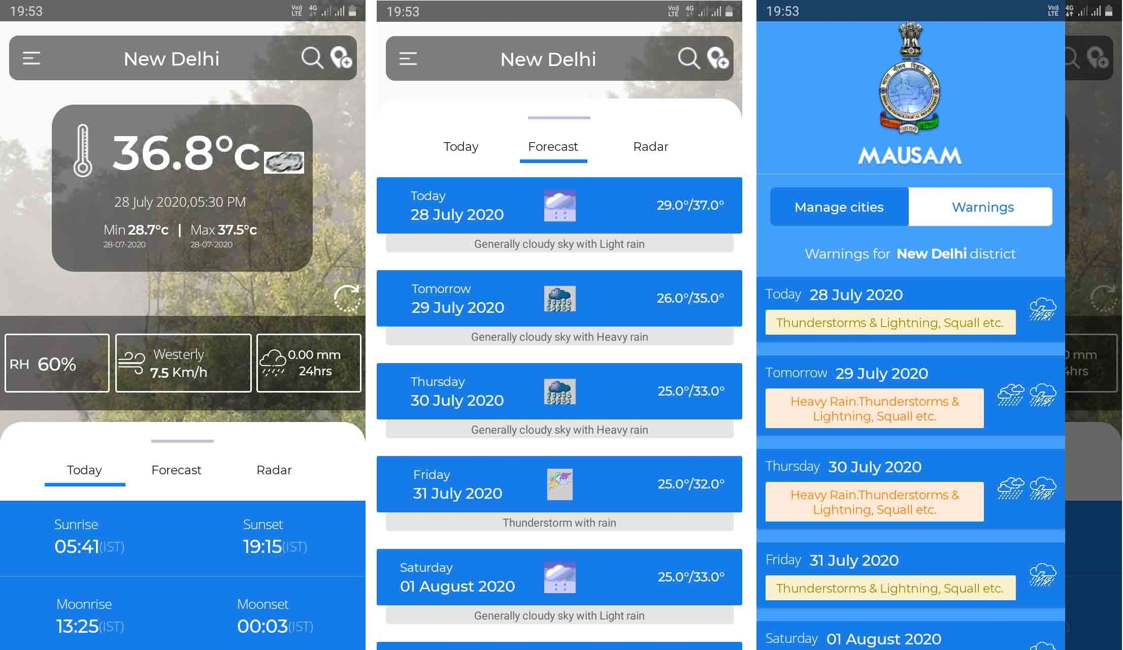 Government launches weather forecast app, Mausam for Android and iOS users