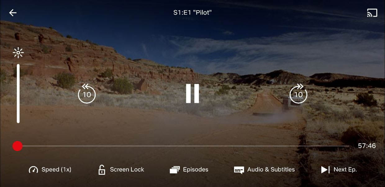 Netflix testing variable playback speed
