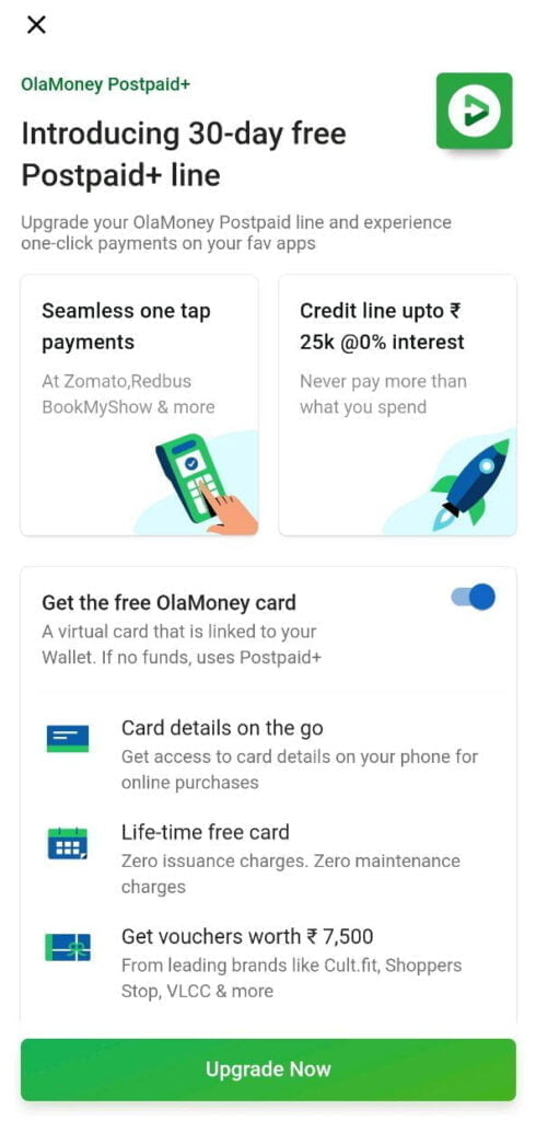 Ola introduces 30-day free OlaMoney Postpaid Plus line