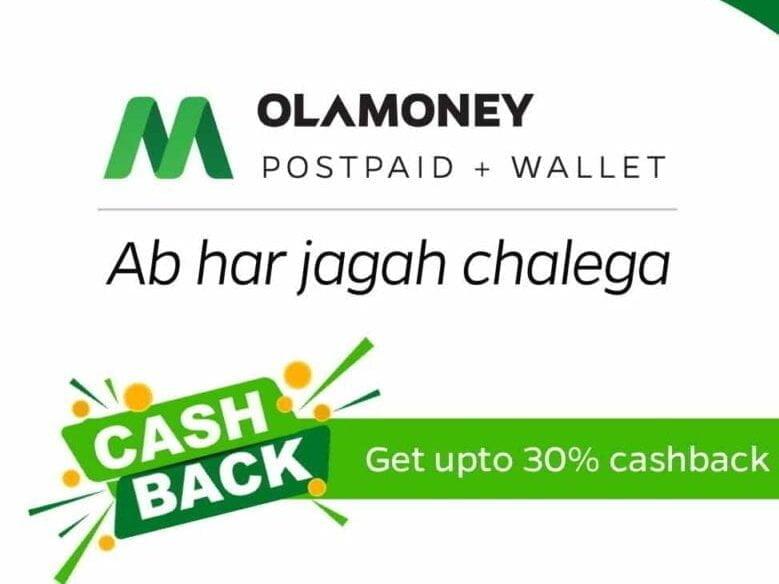 Ola Money Postpaid Banner
