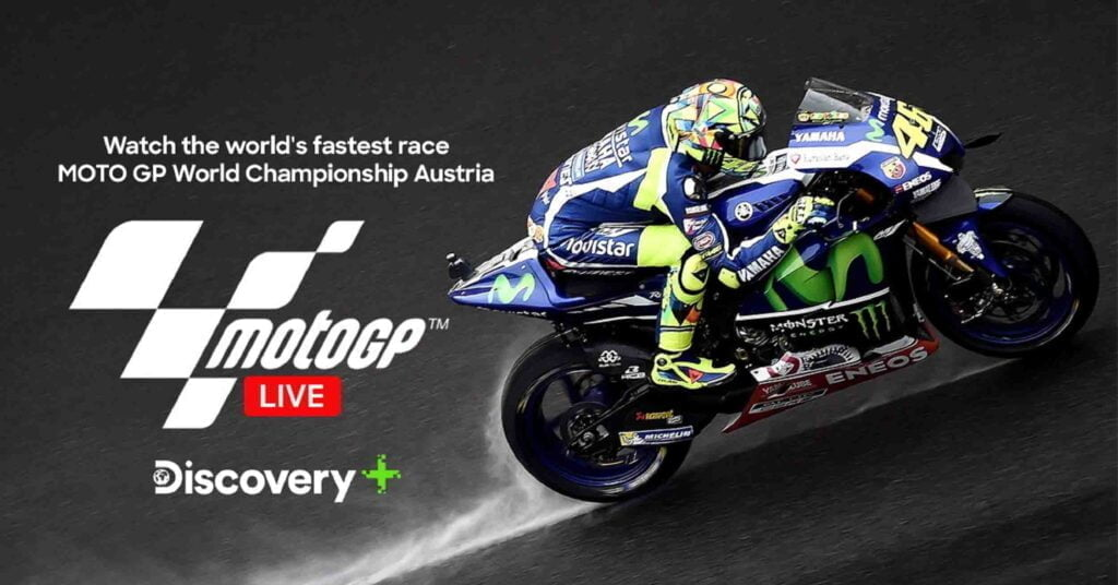 Discovery Plus to showcase MotoGP™ World Championship LIVE for fans longing for action on the go