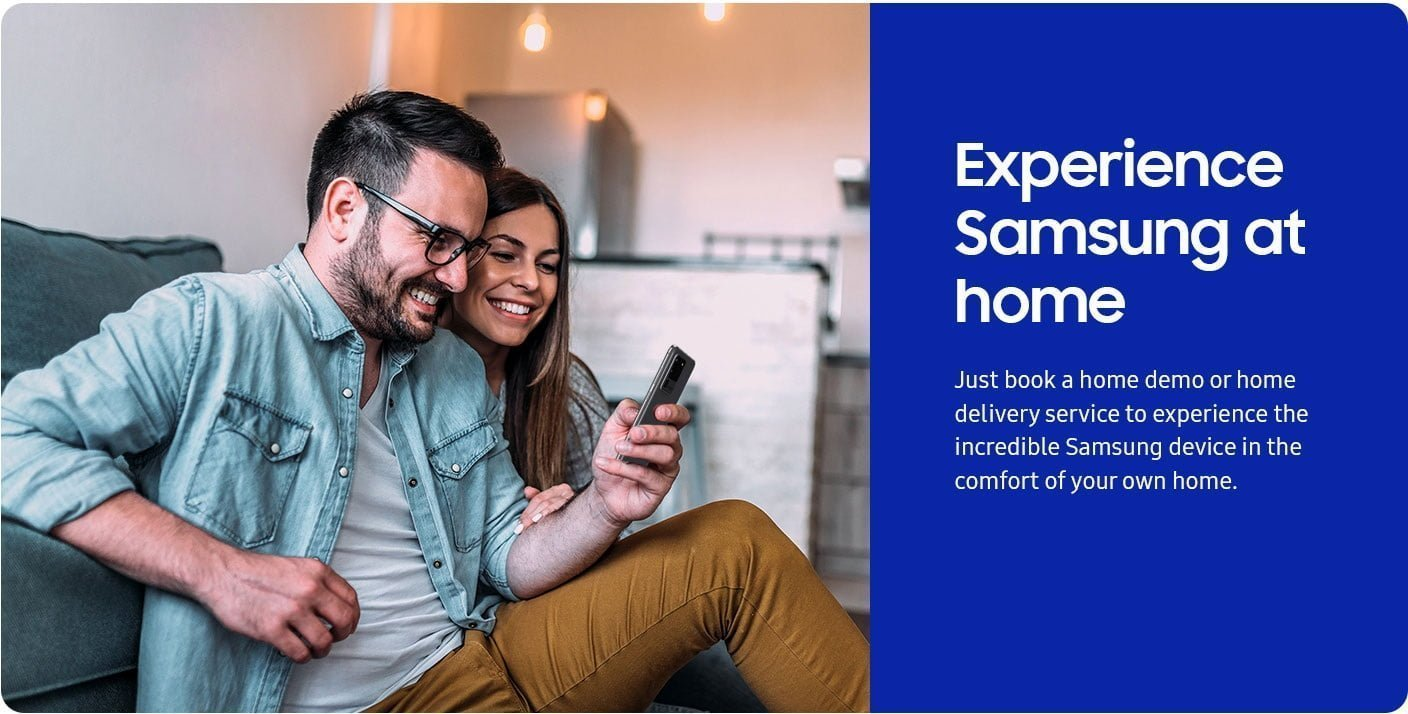 Experience Samsung at Home