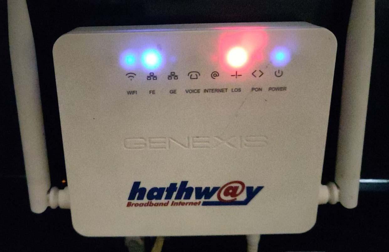 Hathway Router