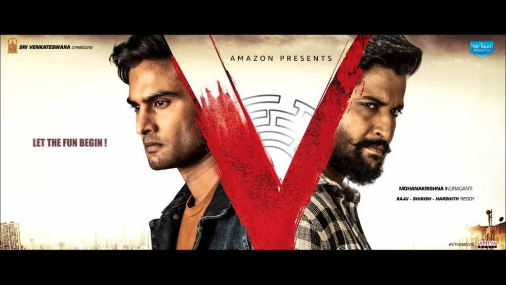 Prime Video to premiere Telugu action thriller 'V', starring Nani and Sudheer Babu on September 5
