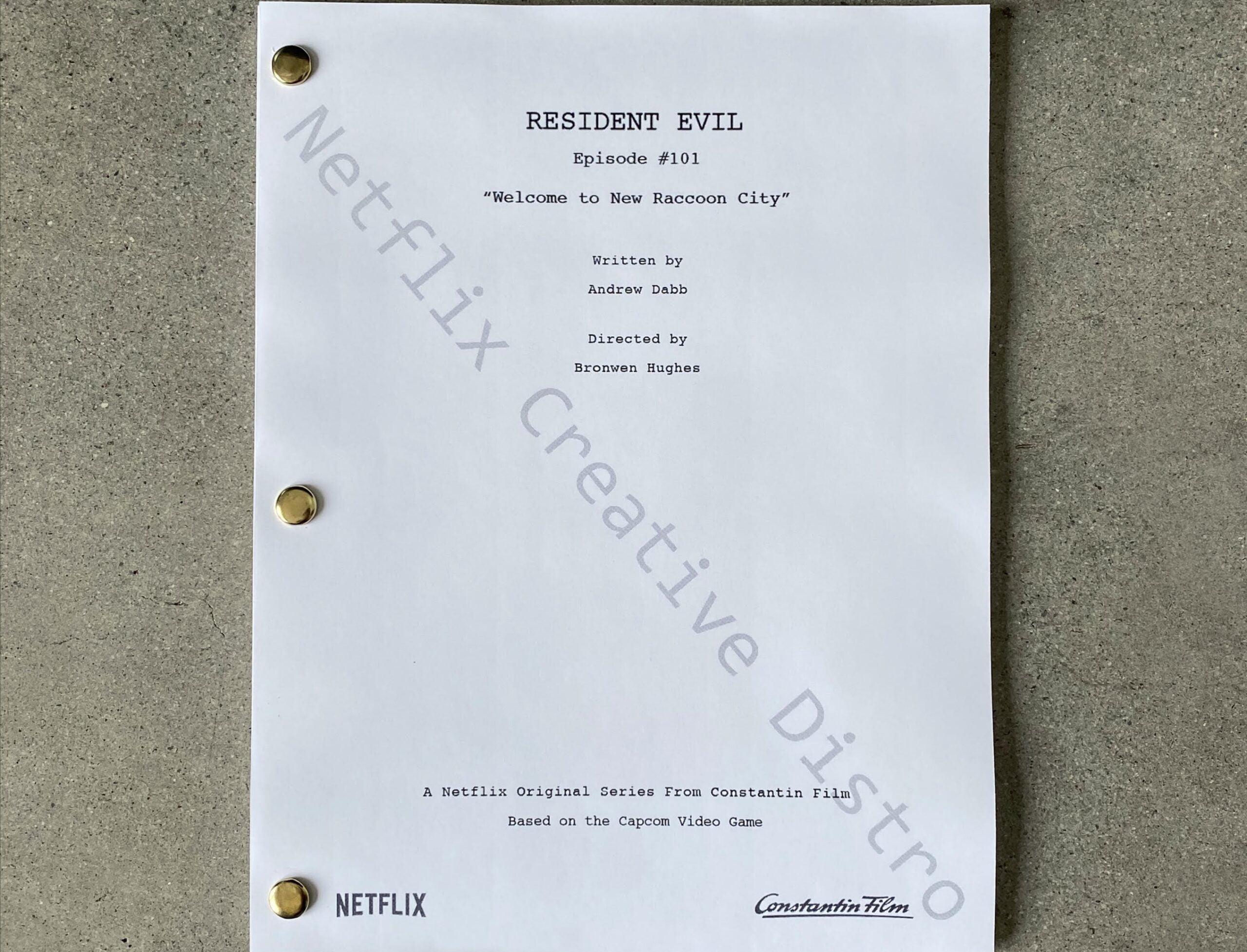 Resident Evil Netflix scaled