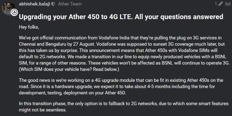 Vodafone Ather 3G
