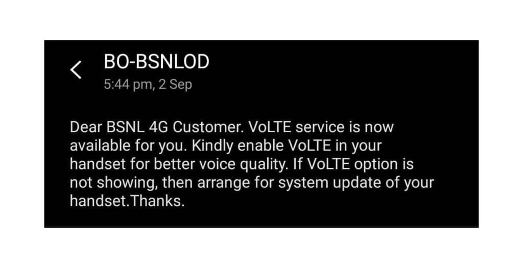 BSNL launches VOLTE service in Odisha