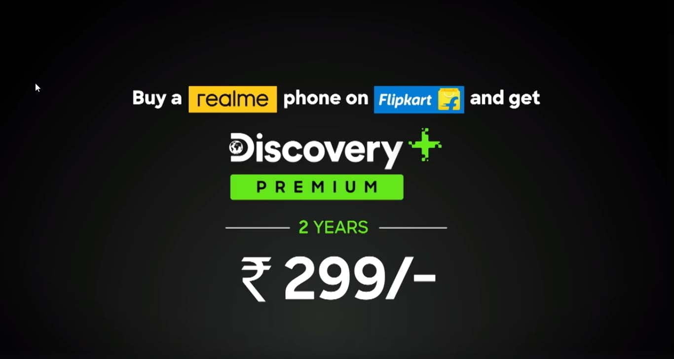 Discovery+ Premium 2 year subscription available at Rs 299 ...