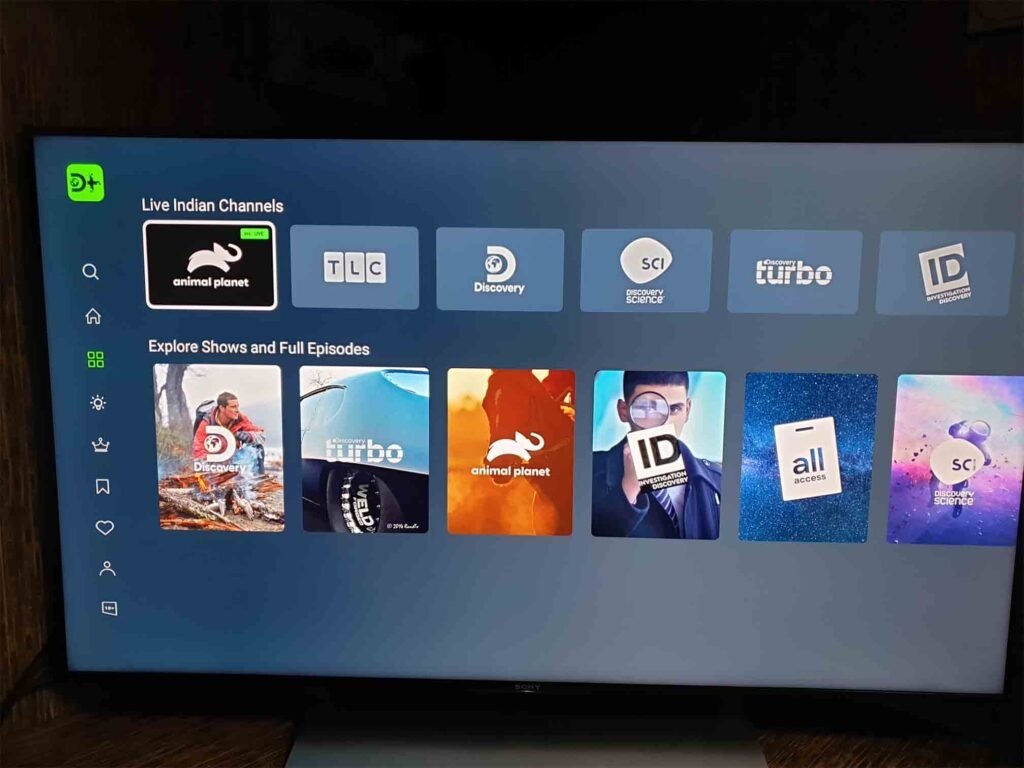 Discovery+ testing live TV channels from Discovery network on its Android apps